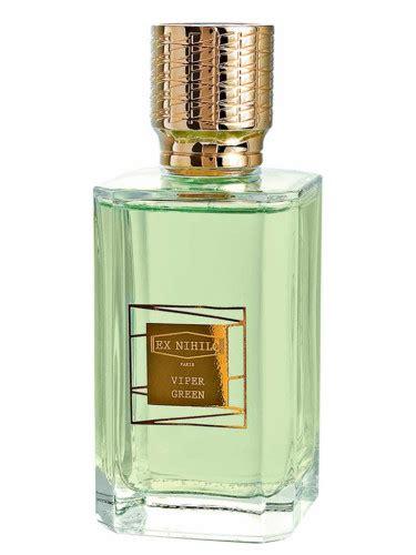 Parfum Ex Nihilo Tender viper green ex nihilo perfume a new fragrance for