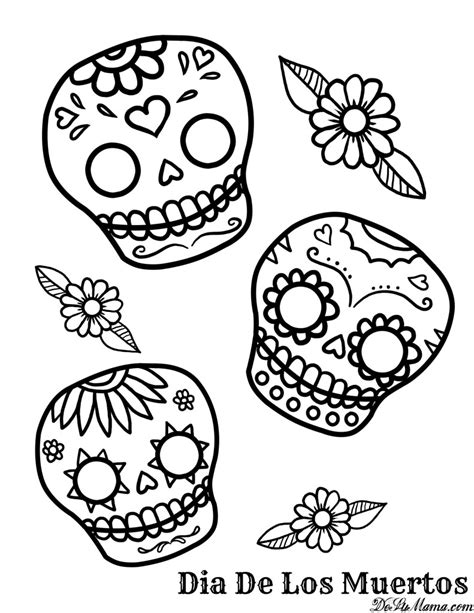 mexican day of the dead art and free printables