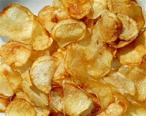 Handmade Chips - potato chips recipe crispy easy snack food