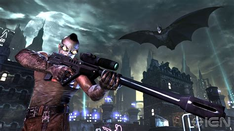 Arkham City new batman arkham city details on villains and