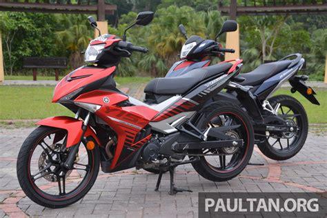 Lu Yamaha Yl honda rs150r vs yamaha y15zr dua model terhangat