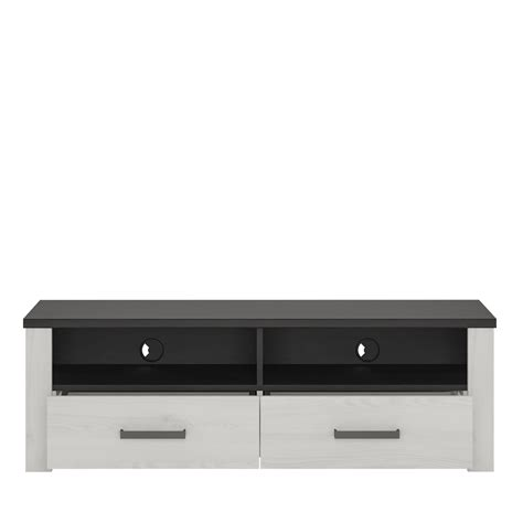 provence 127cm wide 2 drawer tv cabinet