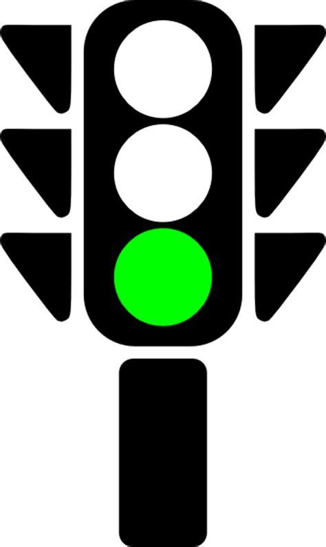 Green Light by Traffic Semaphore Green Light Clip At Clker