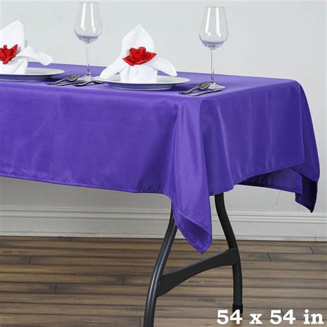 tablecloth for 54x54 square table square 54 x 54 inch polyester tablecloth wedding linens