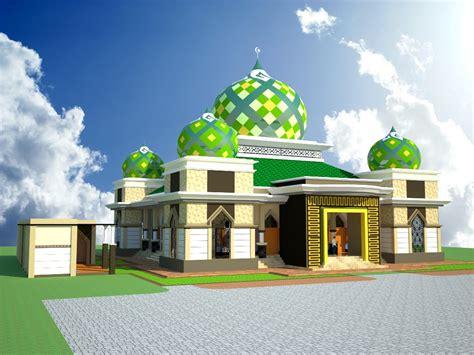 model masjid minimalis  model masjid modern