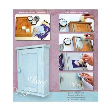 chalk paint anleitung viva decor vintage look chalky paint kit starter