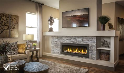 Where To Place Tv In Living Room With Fireplace by Napoleon Direct Vent Fireplaces