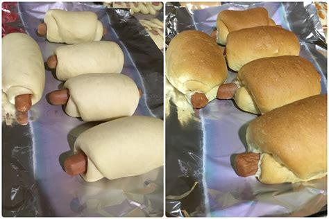 membuat roti menggunakan bread maker roti bun sosej yang gebu montel