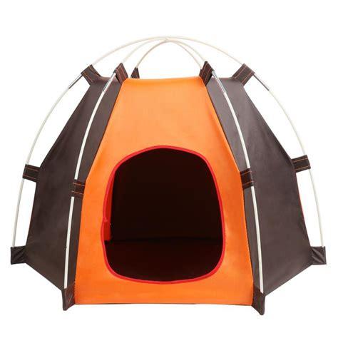 hot portable folding dog pet house bed tent waterproof cat