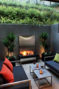Modern Outdoor Patio Can You Squeeze An Outdoor Retreat Onto A Small Lot