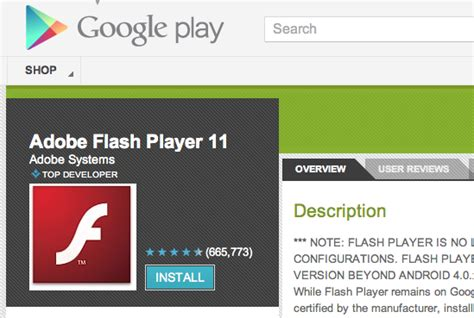 how to get flash player on android android flash player rip how to get it now that it s techhive