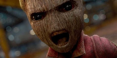 I Am Groot Guardians Of The Galaxy gunn mo cap baby groot screen rant