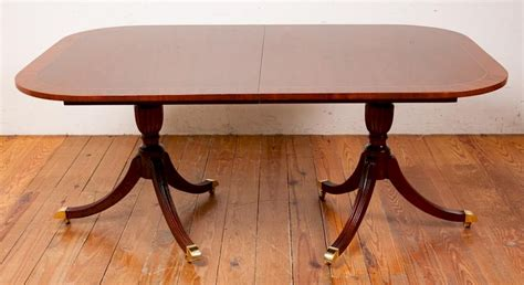 council craftsman mahogany dining room table  bremo