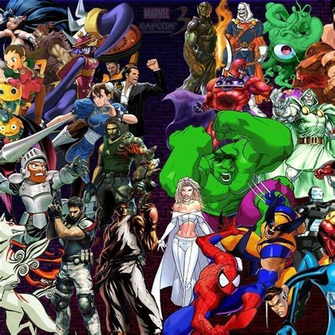 Marvel Vs Capcom Live Wallpaper 10 best marvel vs capcom 2 wallpaper hd 1080p for pc
