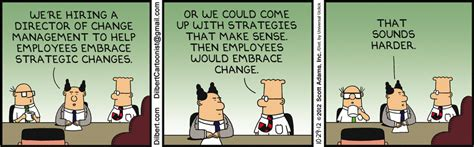 top ten dilbert cartoons  lean  operations