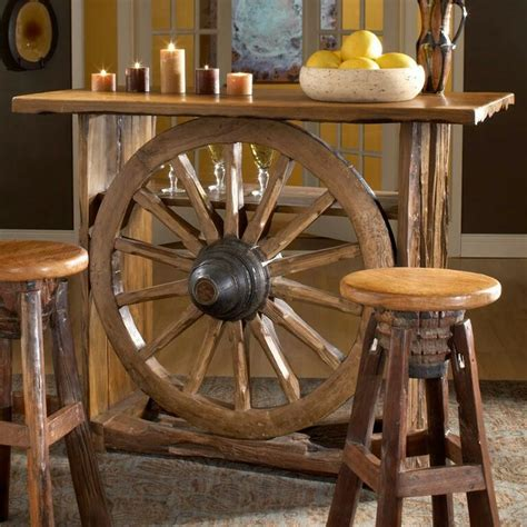 western rustic home decor wagon wheel table r 250 stico pinterest wagon wheel table wheels and wagon wheels