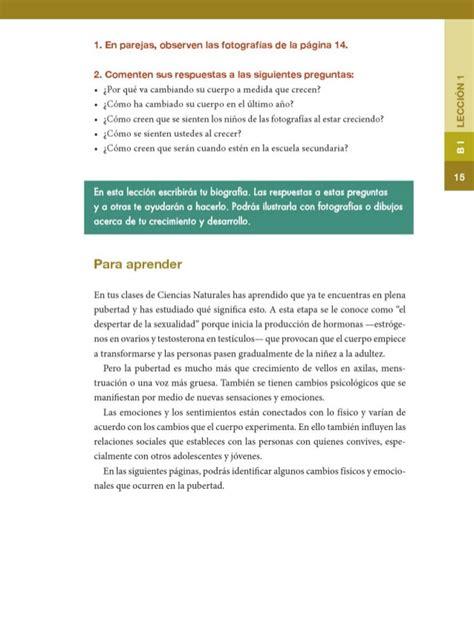 libro sep de formacion 6to sep libro de formacion 6 grado respuestas formacion civica