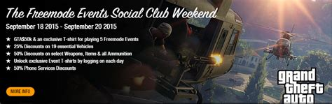 Social Events Of The Weekend by The Freemode Events Social Club Weekend Gta