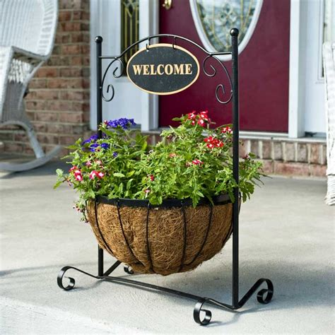 Decorative Plant Stand by Classic Welcome Decorative Plant Stand With Aquasav