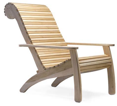 ergonomic adirondack finewoodworking
