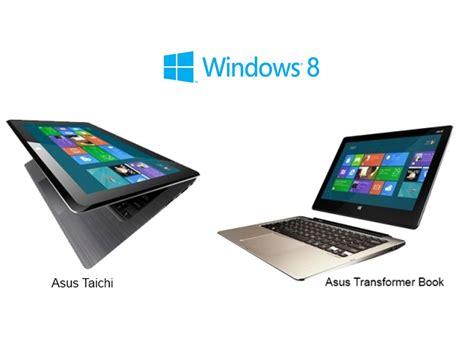 Asus Laptop Won T Load Windows 7 asus d 233 voile les prix de ses tablettes pc windows 8 asus taichi et asus transformer book