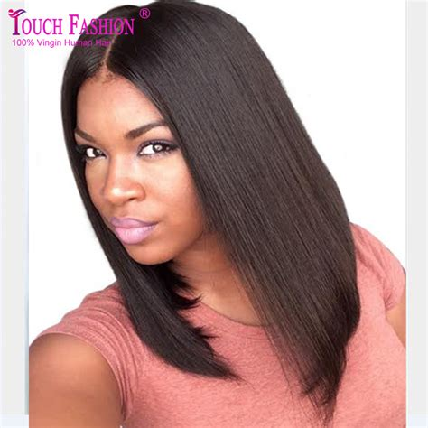 long black hair with part in the middle 2017 summer long bob wig middle part u part bob wig human