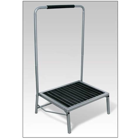 Wide Folding Step Stool With Handle by Wide Folding Step Stool With Handle Stools