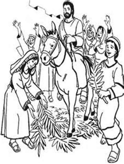 coloring page jesus triumphal entry 251 best images about mfw rome to reformation on