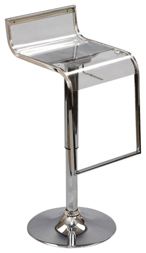Clear Acrylic Bar Stool by Acrylic Bar Stool In Clear Modern Bar Stools And Counter Stools By Lexmod