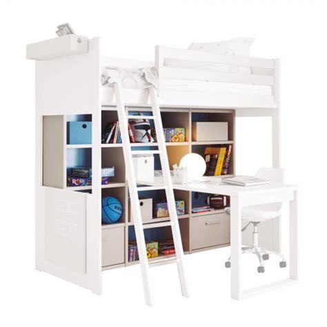 Hochbett Mit Schreibtisch Und Schrank Billig
