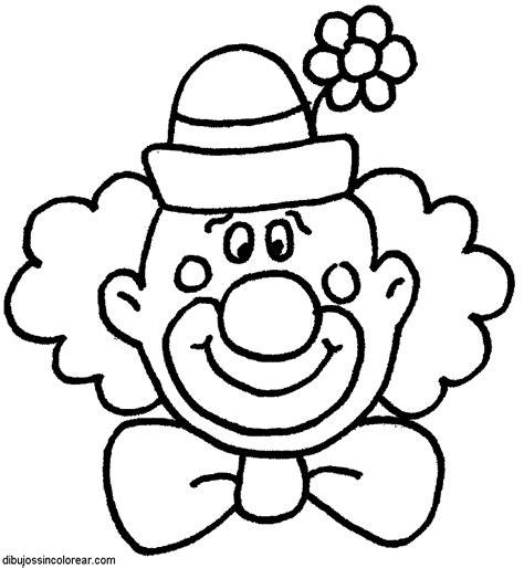 Dibujos Infantiles Para Colorear De Payasos | dibujos de payasos del circo para colorear