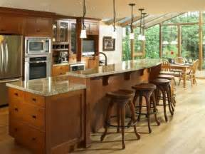 Kitchen Island With Seating Ideas by Kitchen Islands With Room To Spare