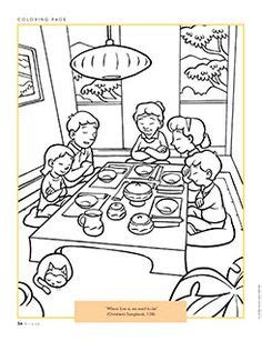 Lds Coloring Pages Prayer by Lds Primary Coloring Pages Prayer