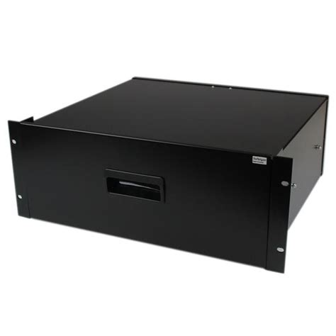 4u Rack Drawer by Rackmount Drawer 4u Black Sliding Rack Storage Drawer
