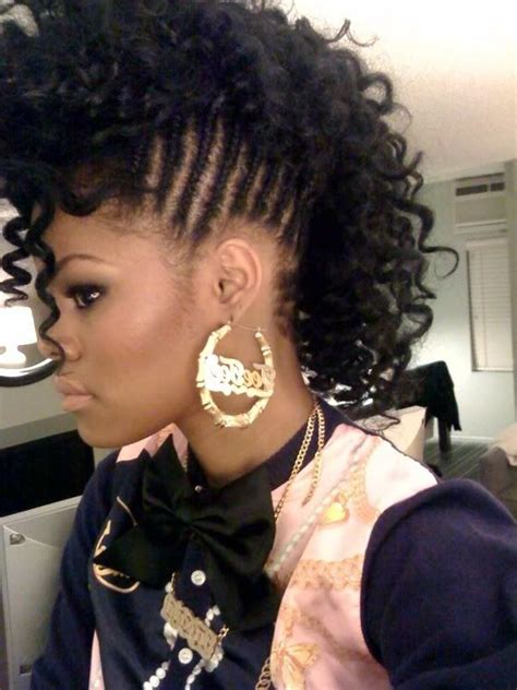 Hairstyles For Medium Hair Black Braids by Black Hairstyles From The 80 S Black Braid Hairstyles 2