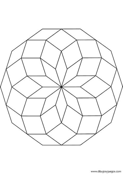 imagenes de mandalas simples para colorear dibujos mandalas simples 009 dibujos y juegos para