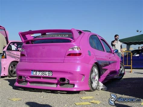 renault purple tuning