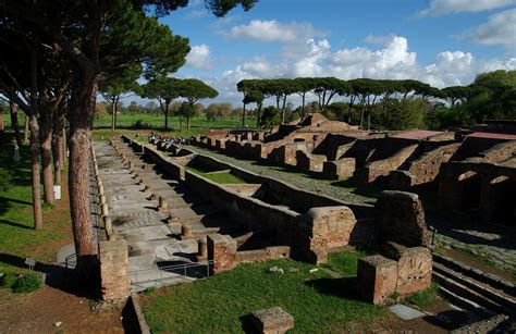 porto ostia antica ancient ostia cupolone it