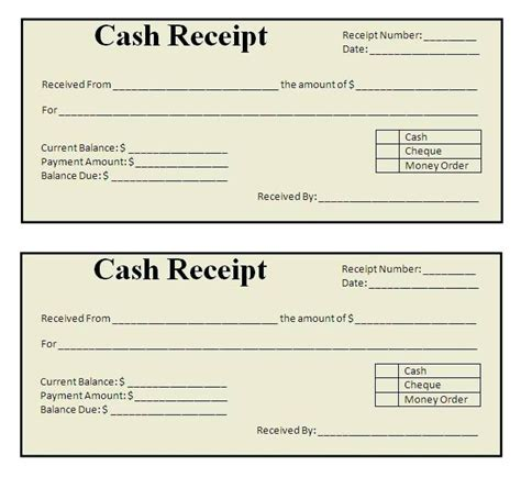 Simple Sales Receipt Template by Simple Receipt Template Free Free Printable Receipts