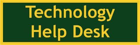 Technology Help Desk forest senior high homepage