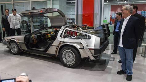 delorean museum why the back to the future delorean didn t end up in the