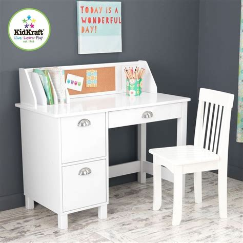 Childrens Study Desk kidkraft 26704 children s wood study desk chair w