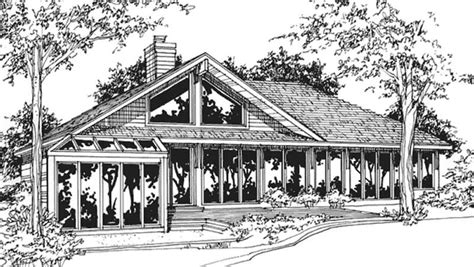 one story passive solar house plans passive solar house plans home design ls b 811 21459