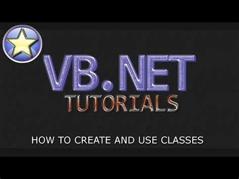 sle vb net programs for beginners vb net tutorial for beginners creating classes visual