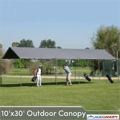 Outside Canopy Outdoor Canopy 10x30 Heavy Duty