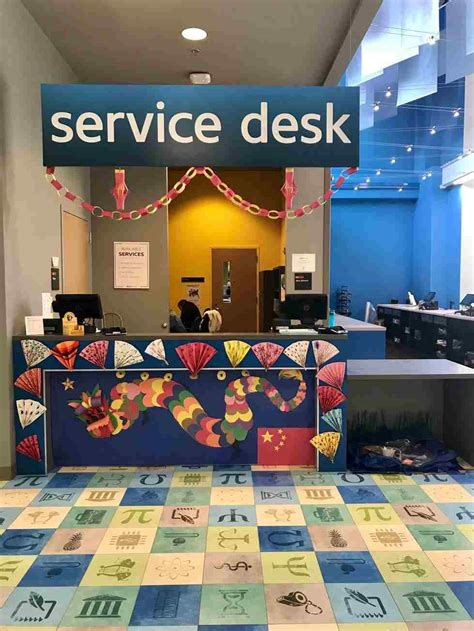 gvsu it help desk student employee appreciation week 2018 office decorating