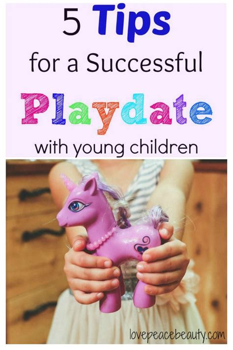 5 tips for a successful playdate with young children