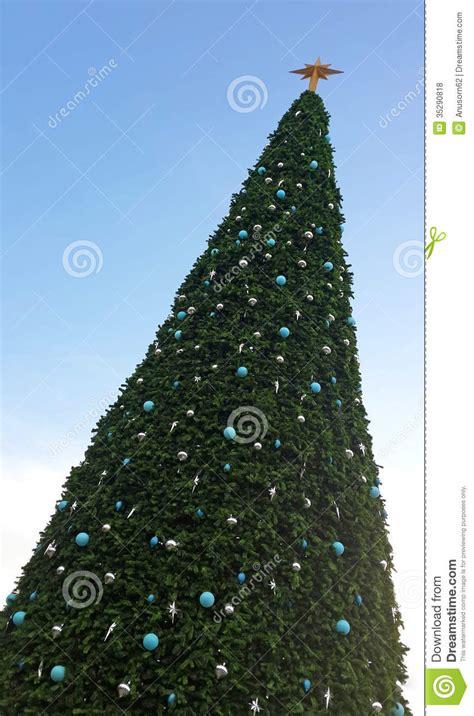 big christmas tree royalty free stock photos image 35290818