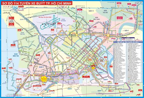 Printable Map Ho Chi Minh City | large detailed tourist map of ho chi minh city ho chi