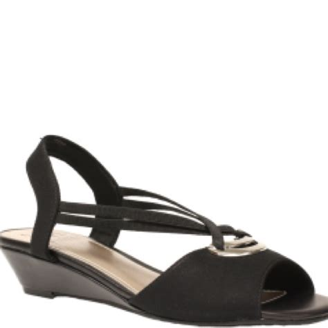 impo sandals 80 impo shoes impo stretch sandals in black with